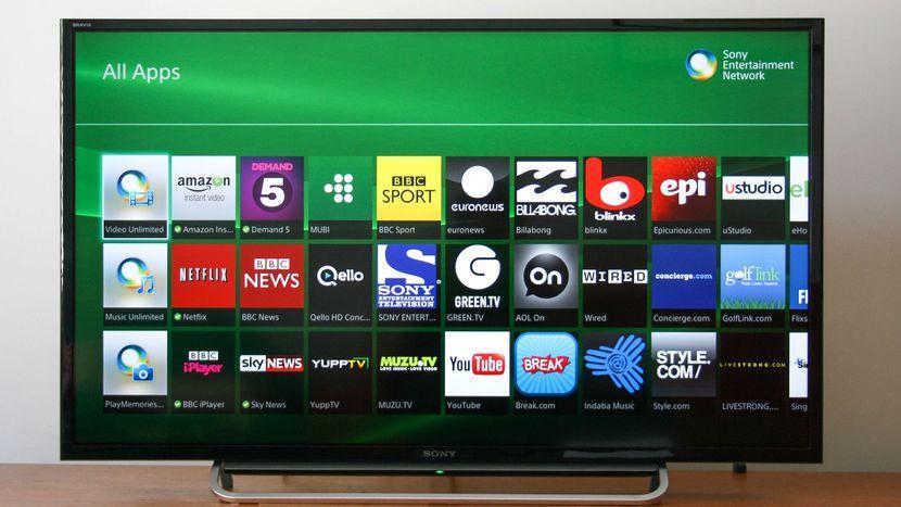 Телевизоры Sony с функцией Смарт ТВ