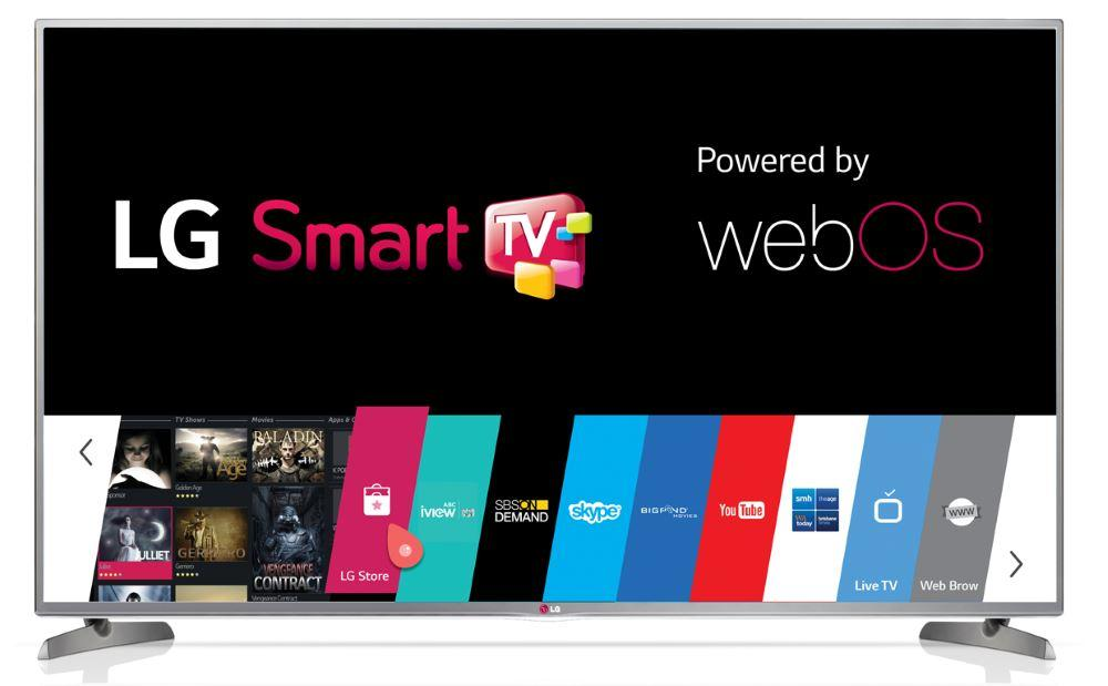 Смарт телевизора LG