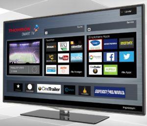 браузер на Смарт ТВ Томсон