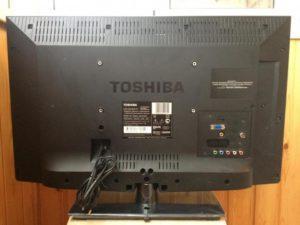 Задний панель телевизора