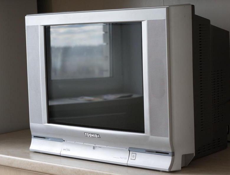 Телевизор Тошиба Бомба