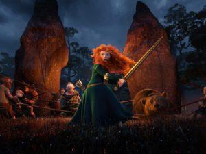 Фильм Disney Pixar «Храбрый».