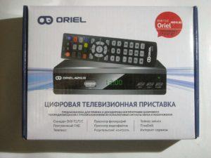 Oriel 421ud dvb t2 c с родительским контролем