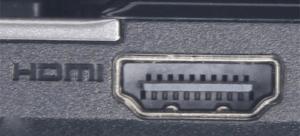 С помощью HDMI