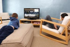 Удобная посадка у телевизора